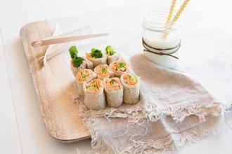 Bread sushi