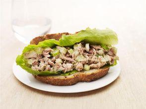 Crunchy Tuna Sandwich
