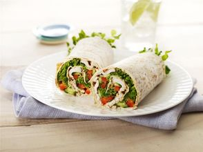 Tandoori Chicken & Salad Wrap