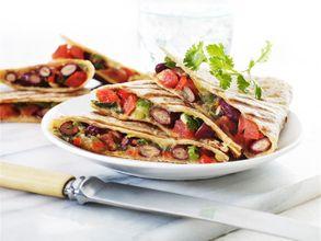 Mexibean Tortilla Melt