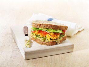 Hummus Salad Sandwich