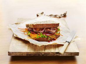 Roast Beef & Chutney Sandwich