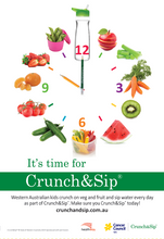 It's time for Crunch&Sip - A3  (3408)